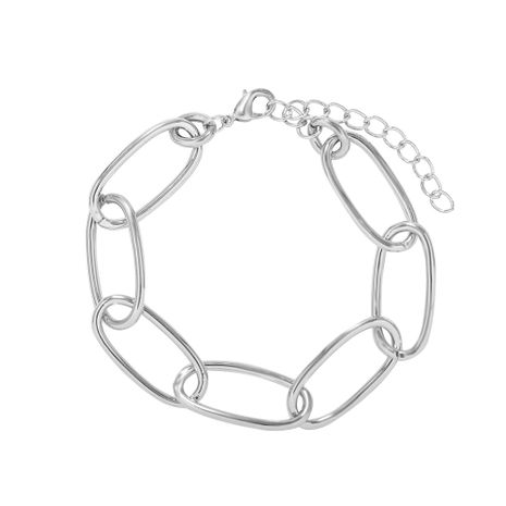 new  women's simple couple thick chain bracelet  NHJQ281904's discount tags