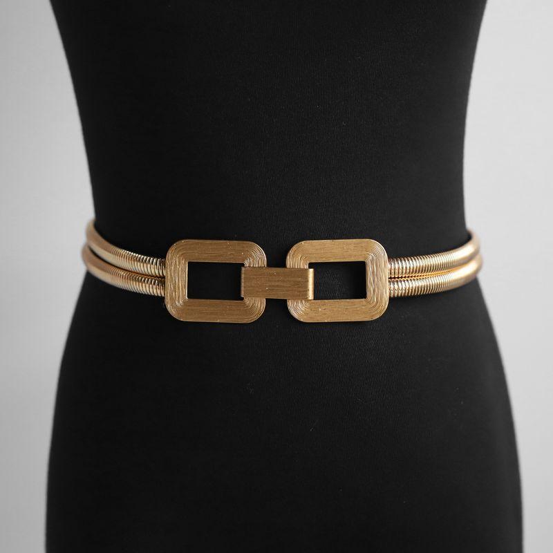 Korean  simple wild chain  metal thin belt  NHJQ281905