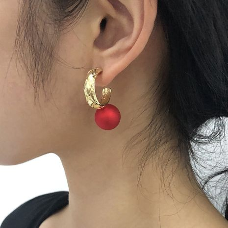 boucles d'oreilles simples de mode NHMD281957's discount tags