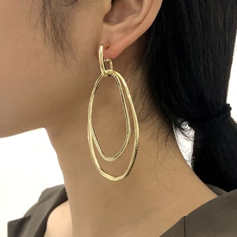 simple geometric creative fashion earrings NHMD281962's discount tags