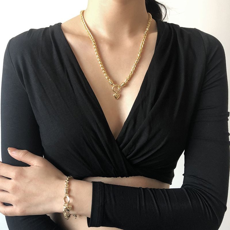 creative fashion trendy necklace  NHMD281971