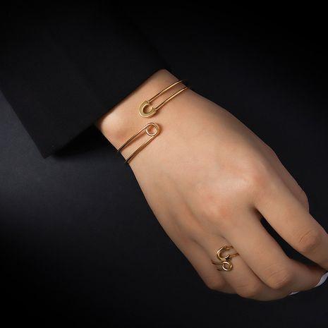 nouvelle bague de bracelet de bracelet réglable d'ouverture de broche de mode NHOK282058's discount tags