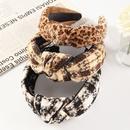 leopard print headband  NHAU282125
