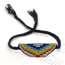 Korean  Miyuki rice beads woven colorful handbeaded bohemian  bracelet NHGW282144