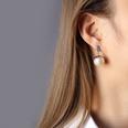 NHOK1256220-Pair-of-imitation-pearl-earrings-steel-color