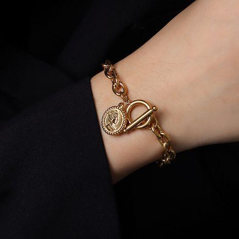 bracelet à boucle OT simple NHOK281987's discount tags