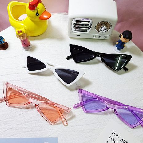 Triangle Children's Retro Sunglasses NHBA282213's discount tags