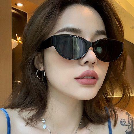 gafas de sol ovaladas retro hip-hop NHKD282242's discount tags