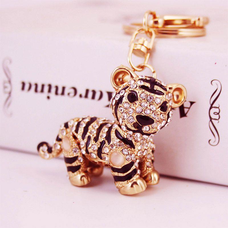 Zodiac Little Tiger Keychain  NHAK282257