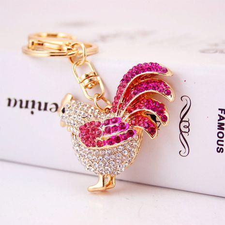 lindo llavero de gallina de diamantes NHAK282265's discount tags