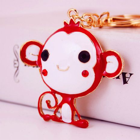 cute cartoon little monkey keychain  NHAK282276's discount tags