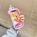 Korean cartoon rabbit Apple 11Promax mobile phone case for iphone12 8plus NHFI282280