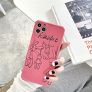 Funny Rose Bunny Apple 12mini max mobile phone case for 11pro 8plus protective cover for Huawei P40 NHFI282297