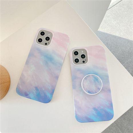 Étui pour téléphone portable Apple 12mini Max Gradient Cloud pour iPhone11Pro 8plus SE2 XR X NHFI282308's discount tags