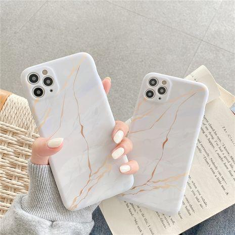 Étui de téléphone portable en marbre iPhone12mini pour Apple 11 se2 coque souple liquide XR 8plus NHFI282318's discount tags