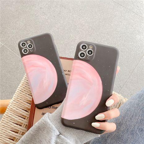 Étui pour téléphone portable iPhone12mini Simple Literary Moon pour Apple 11 SE2 Liquid Soft Shell 7 8plus NHFI282322's discount tags