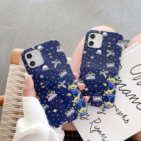 Coque de téléphone portable coréenne à trois yeux garçon 12mini 11pro / max pour iPhone8 SE2 XR XS NHFI282323's discount tags