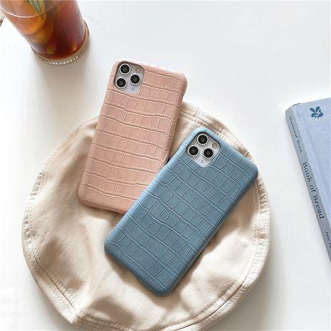 Cas de téléphone portable rétro simple motif crocodile 12mini 11pro Max Apple XS XR SE2 pour iPhone8 NHFI282328's discount tags
