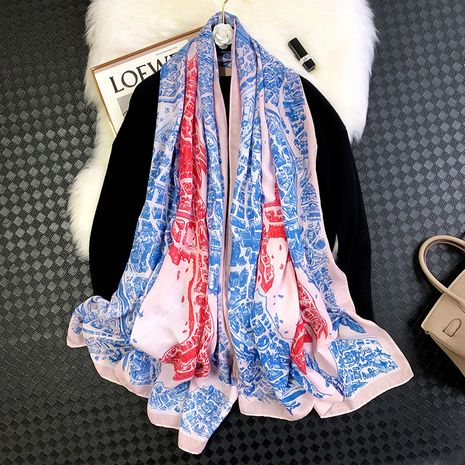 hit color fashion printing cotton and linen scarf NHCJ282384's discount tags