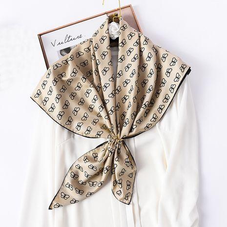 foulard en soie à nœud carré NHCJ282397's discount tags