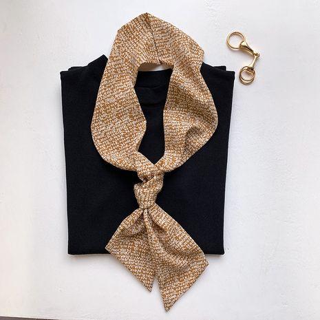 foulard en soie à rayures NHCJ282402's discount tags