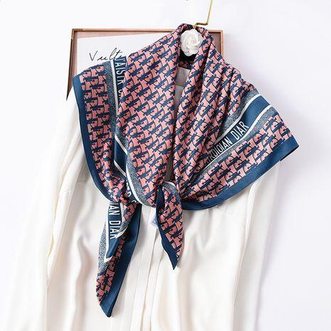 foulard carré en soie NHCJ282408's discount tags