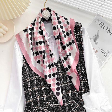 foulard en soie à la mode assortie aux couleurs rétro NHCJ282410's discount tags