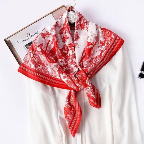 écharpe en soie à la mode NHCJ282423's discount tags