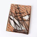 sailing pattern letter printing silk square scarf NHCJ282425