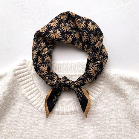 Petit foulard carré en soie NHCJ282433's discount tags