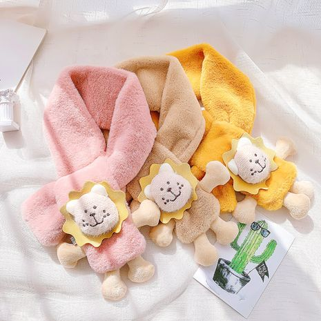 bufanda de piel de conejo de imitación NHCM282477's discount tags