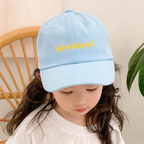 fashion embroidery children's baseball cap  NHCM282488's discount tags
