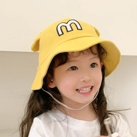 children's cartoon sunscreen embroidered hat NHCM282490's discount tags