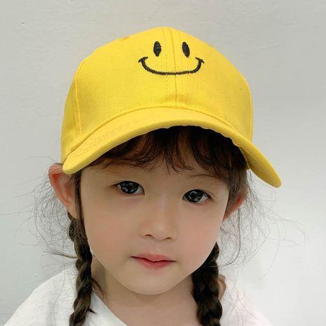 gorra de béisbol infantil con cara sonriente NHCM282495's discount tags