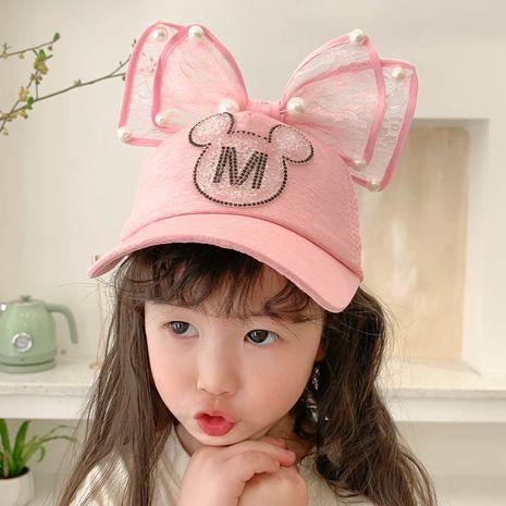 gorra de béisbol del diamante M de los niños de la historieta linda de la moda NHCM282499's discount tags