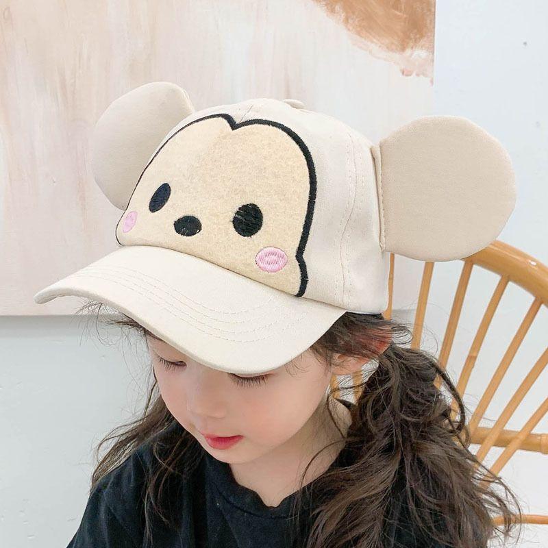 cute cartoon beige children baseball cap NHCM282500
