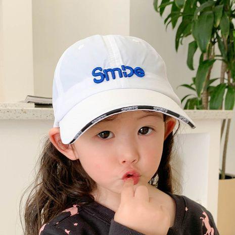 gorra de béisbol con letras de protección solar de secado rápido para niños NHCM282501's discount tags