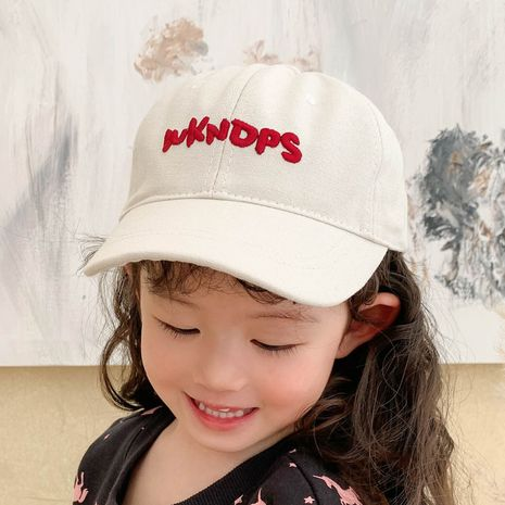 embroidery children's baseball cap  NHCM282502's discount tags