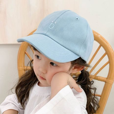 Children's fashion embroidery baseball caps NHCM282503's discount tags