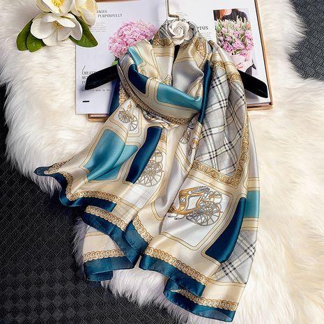 impression foulard en soie imitation NHCJ282572's discount tags