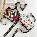 Korean childrens bags new mini suitcase mobile phone bag crossbody square bag NHLH282629