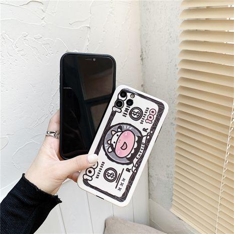 Étui pour téléphone portable Fun Cartoon Cow 11 12pro Max Mini pour Apple X XR SE2 NHFI282351's discount tags