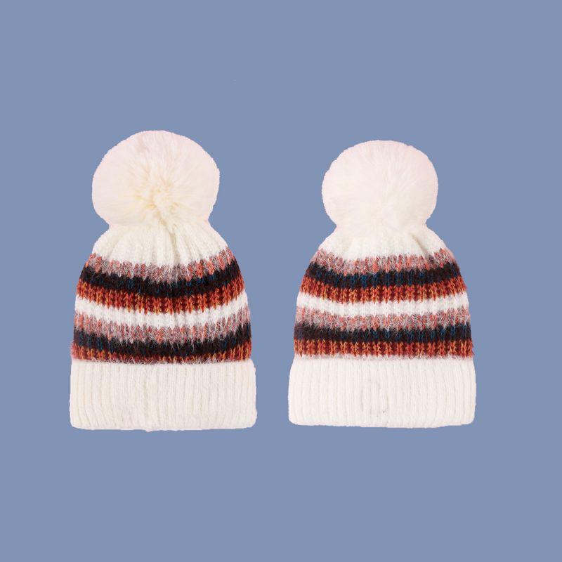 Korean plus velvet warm fashion casual simple knitted hat  NHTQ279209