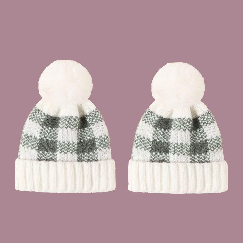Korean fashion Knitted retro warm woolen hat NHTQ279215