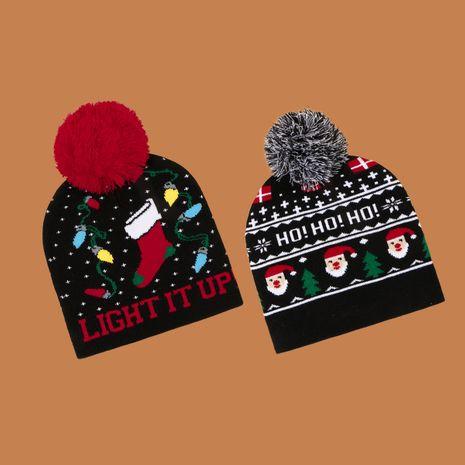 Korean fashion knitted warm woolen hat NHTQ279230's discount tags