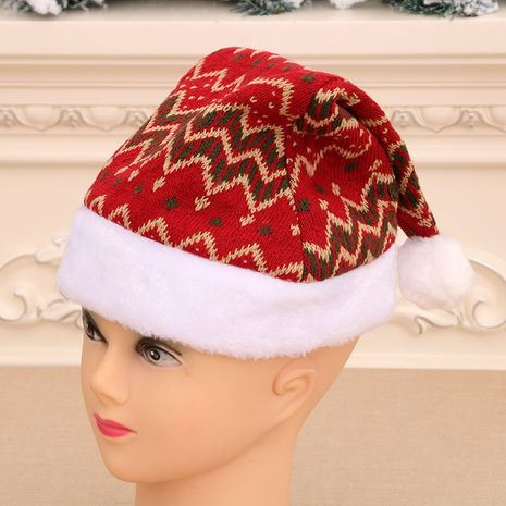 Christmas woolen knitted hat  NHMV282649's discount tags