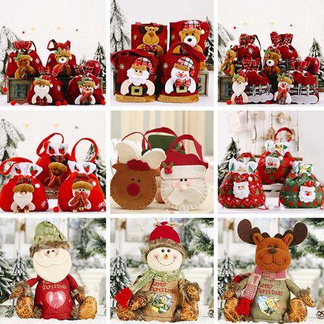 creative christmas decoration cartoon tote bag  NHHB282652's discount tags