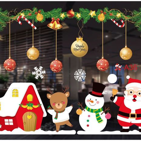 New Color Christmas Window Stickers  NHHB282655's discount tags