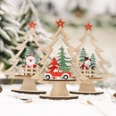 Festive Supplies Wooden DIY Christmas Tree  NHHB282657