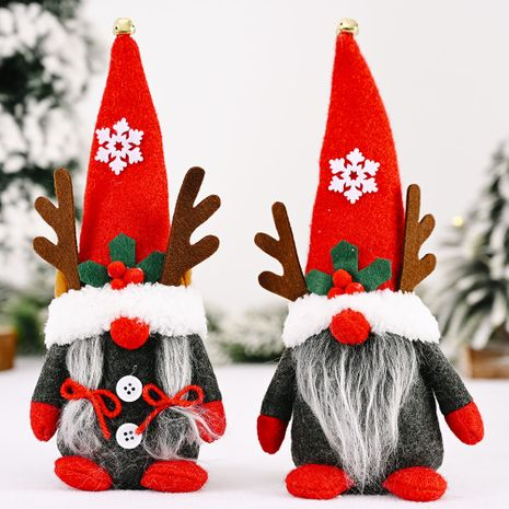 new Christmas  creative antlers dwarf ornaments NHHB282664's discount tags